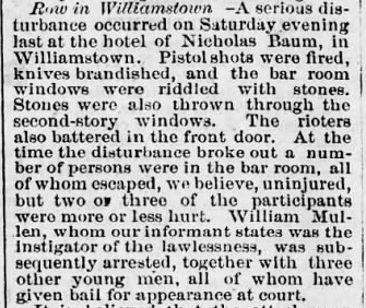 williamstown-brawl