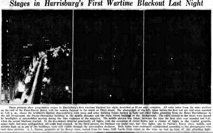 Harrisburg Blackout
