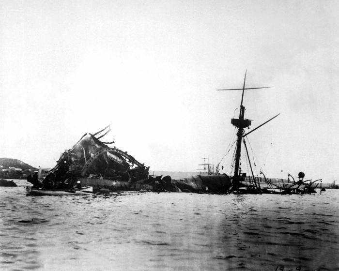 USS Maine aftermath