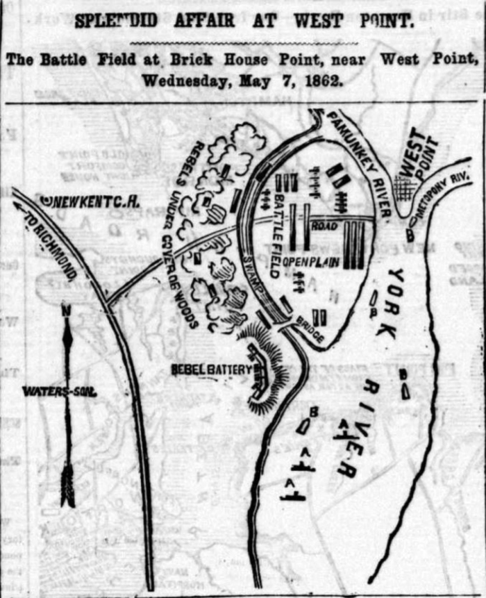 West Point map