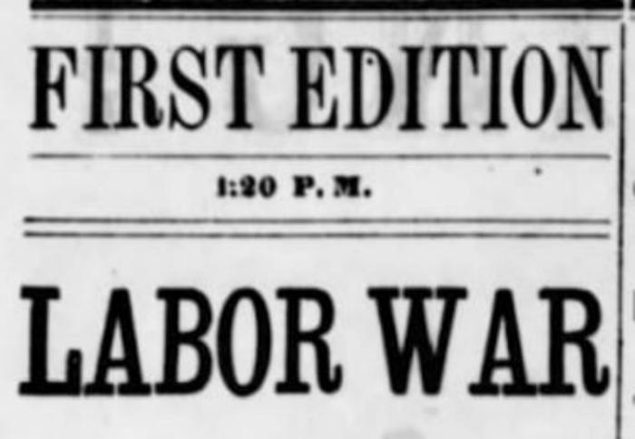 Labor War