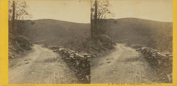 [ViewofroadinWestBranchValleySchuylkillCountyPa.]