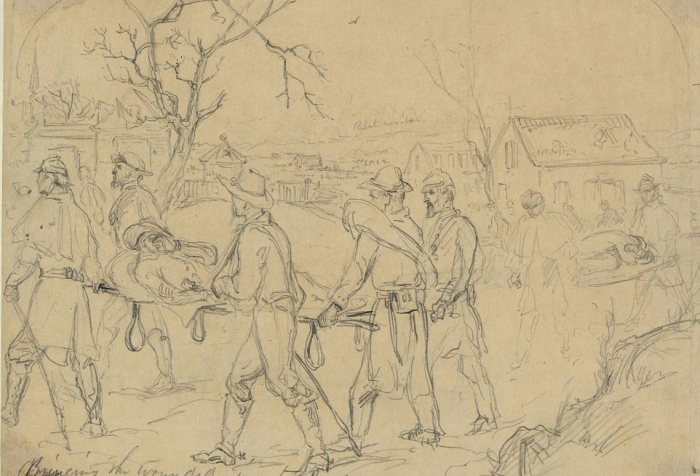 Wounded Fredericksburg