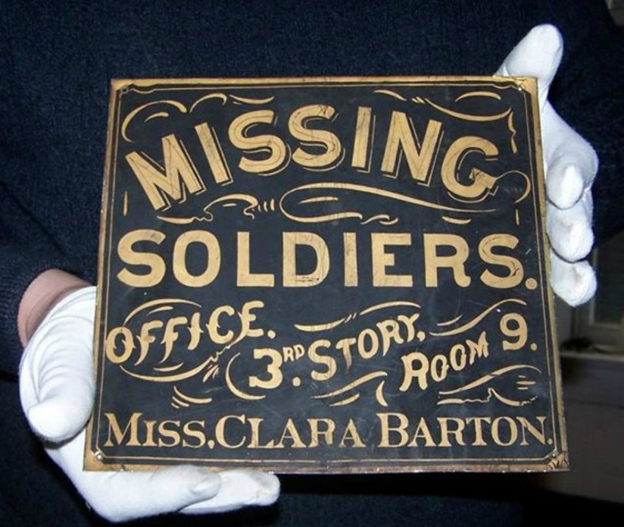 Clara Barton Sign