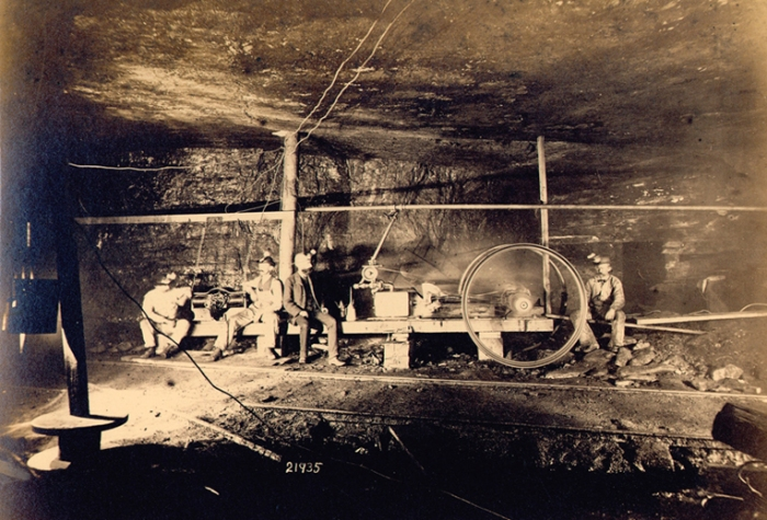 Miners in Pennsylvania