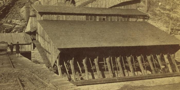 Two Men - Mahanoy Colliery