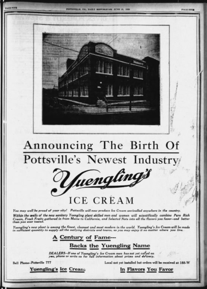 Yuengling Ice Cream Annoucement