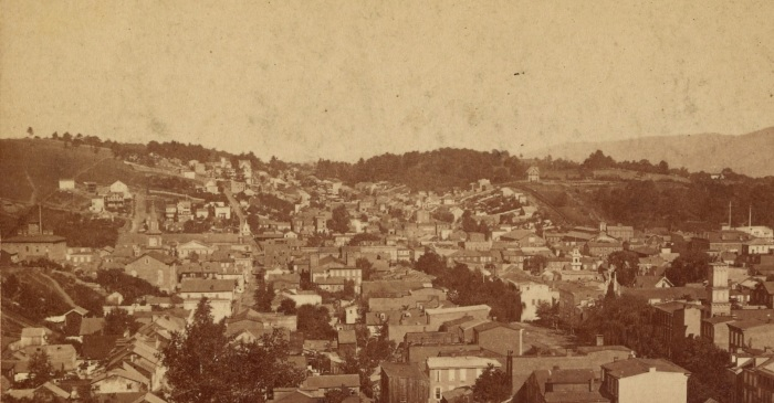 Pottsville View - Lawton's Hill