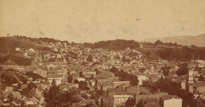 Pottsville View - Lawton's Hill
