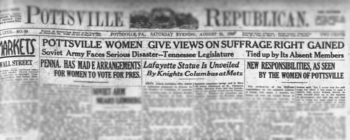 Republican Suffrage Opinions