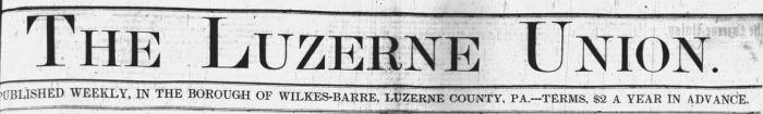Luzerne Leader