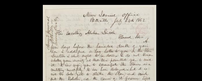 Lincoln Letter