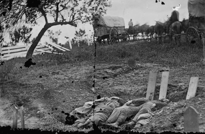 Confederate Dead - Gettysburg