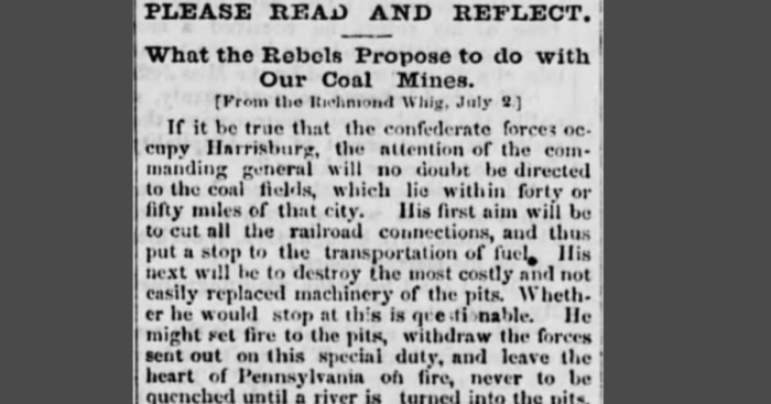 Whig Headline - Coal Region