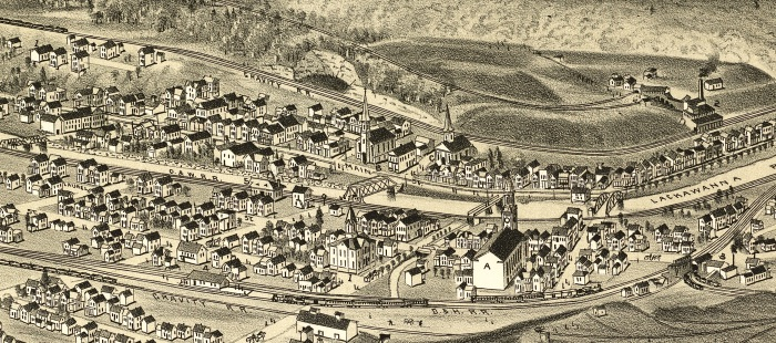 Archbald Town 1892