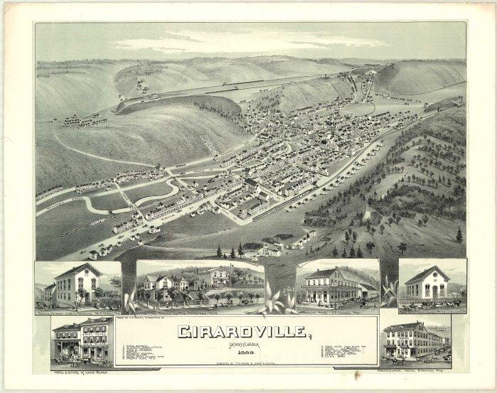 Girardville Map