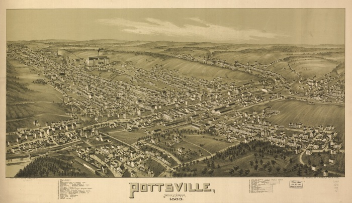 Pottsville in 1889 Full