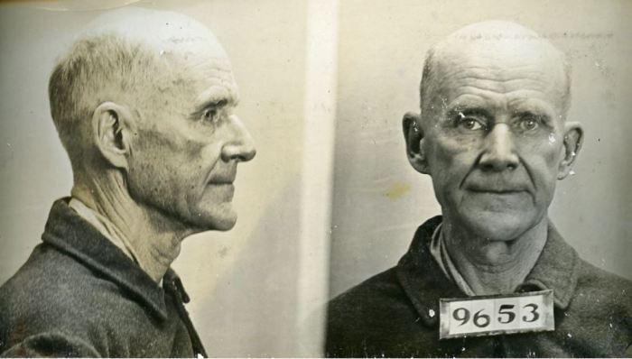 Eugene Debs mugshot