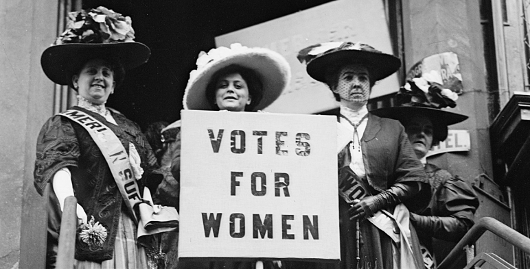 """Votes for Women"""" – Coal Region newspaper published a """"Women's Suffrage  Edition"""" in March 1914 