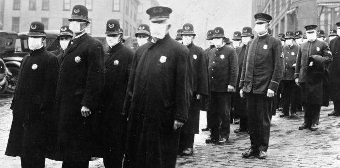 Police Spanish Flu