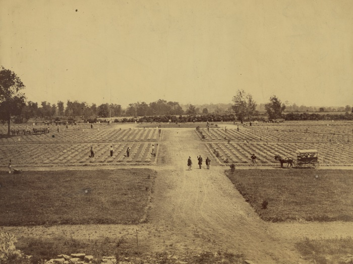 Stones River National Cemetery 1867