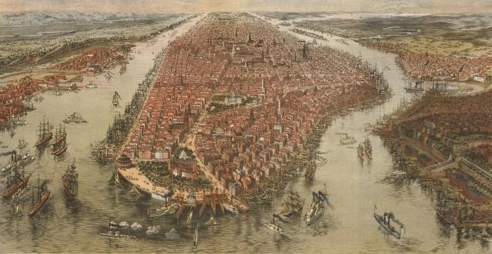New York 1865