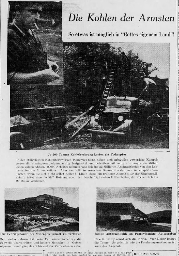 German Propaganda - Lincoln Colliery Full