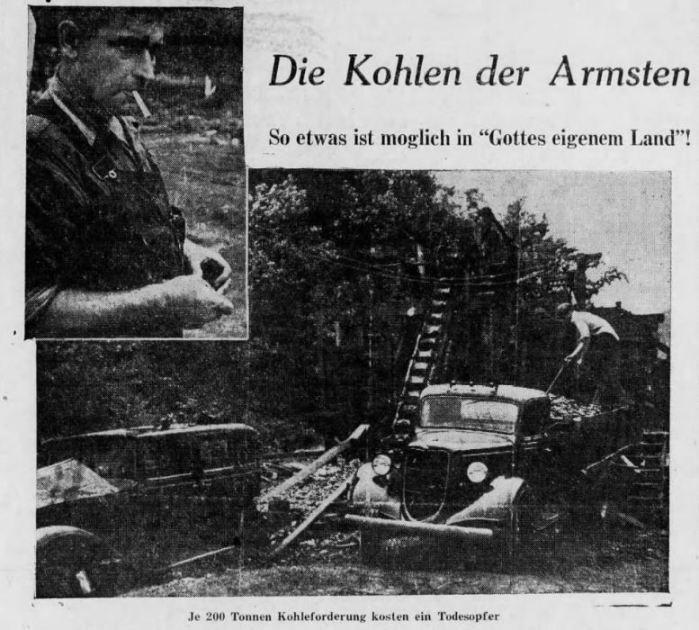 German Propaganda - Lincoln Colliery