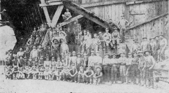Lincoln Colliery 1891