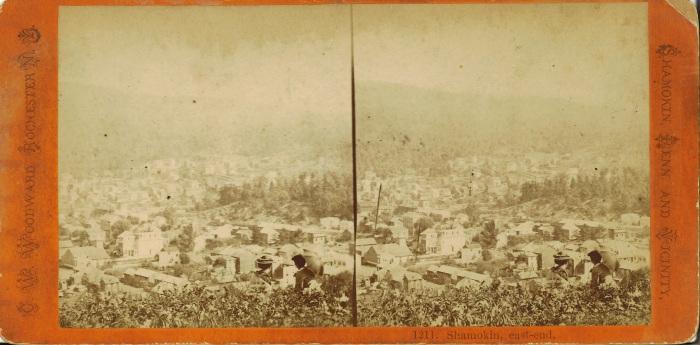 Shamokin Pennsylvania ca. 1870