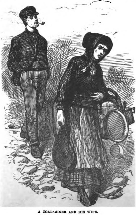 A Coal Miner and His Wife 1877