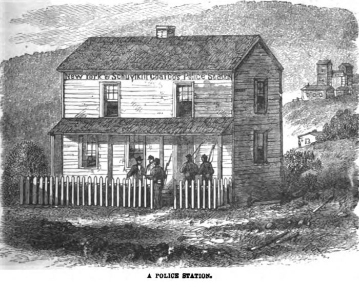 Coal and Iron Police Station 1877