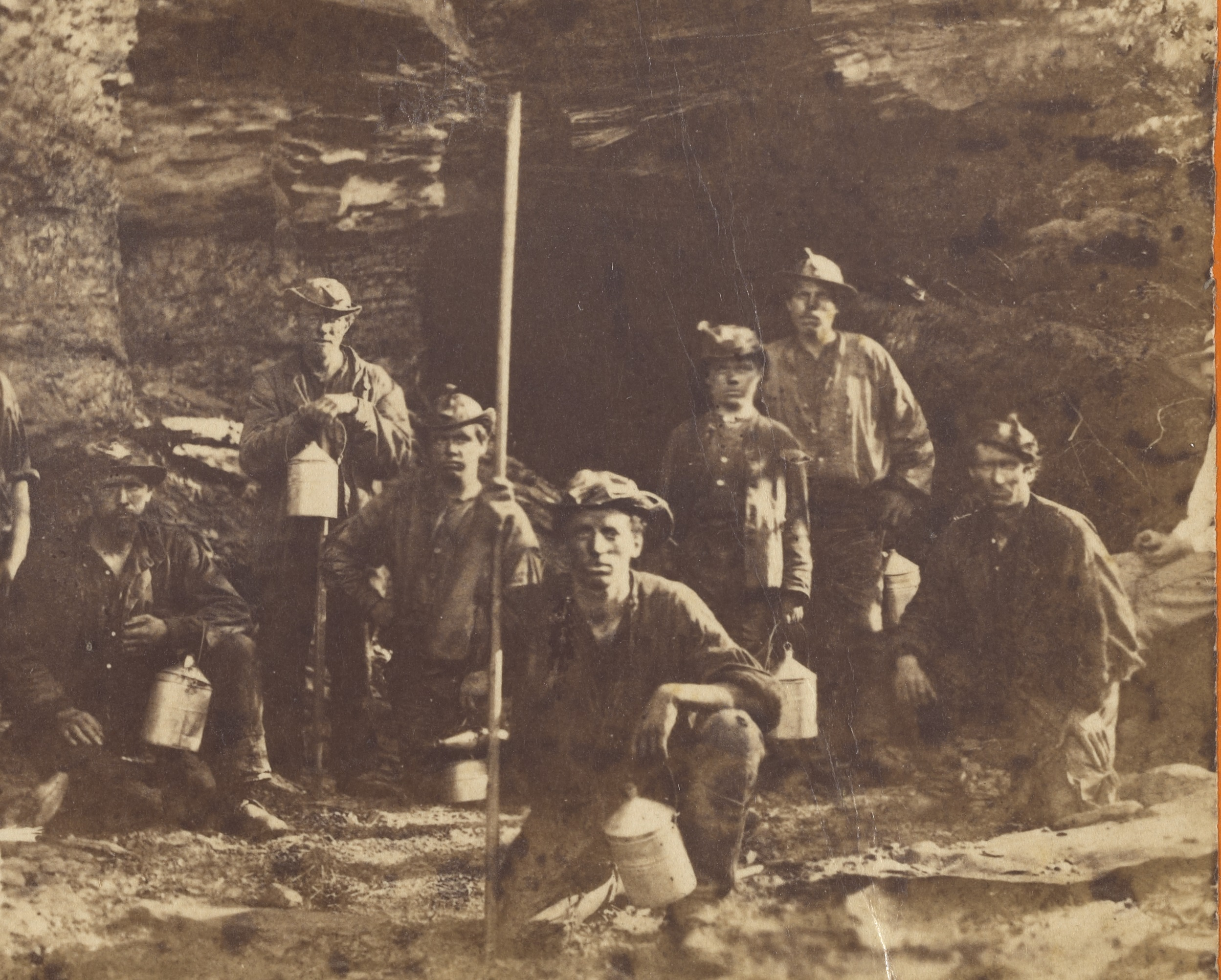 Coal Miners at Mauch Chunk Getty