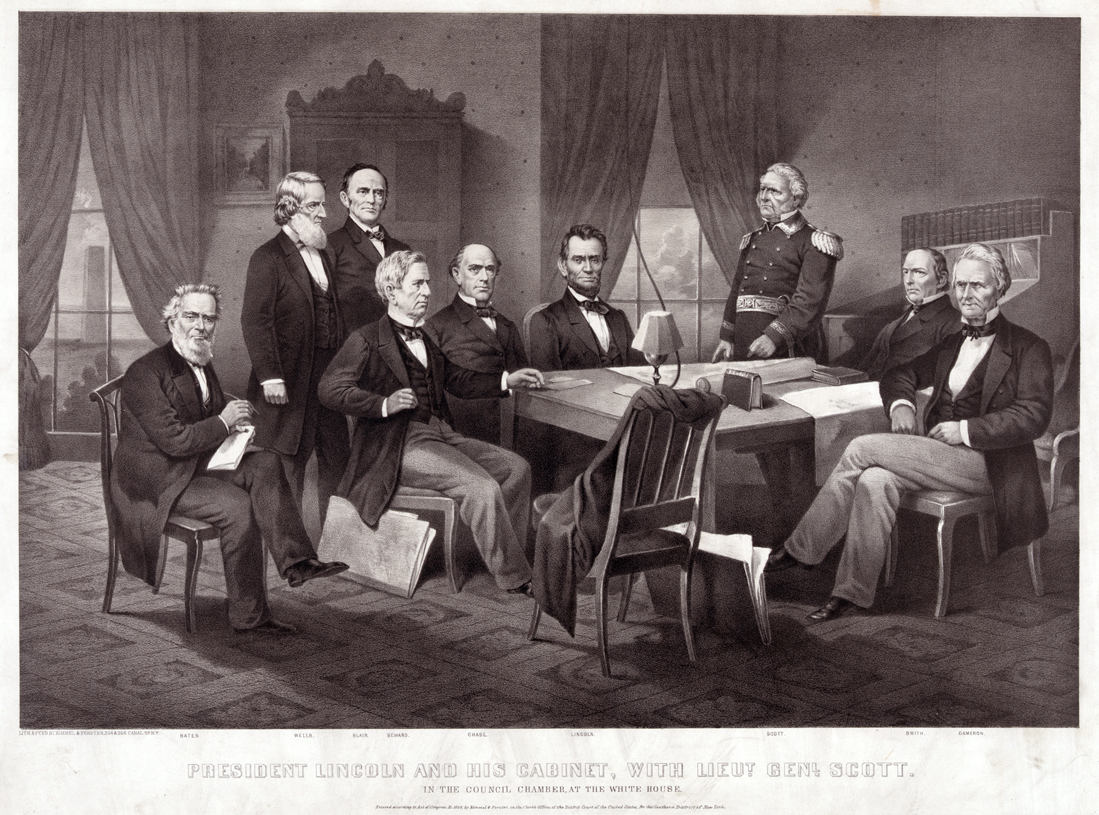 Lincoln Cabinet 1861