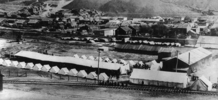 Military Encampment - Shenandoah 1902