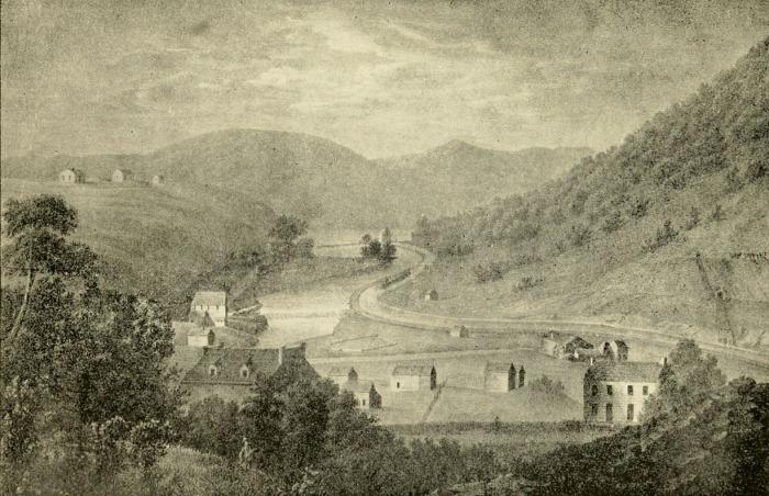 Pottsville Scene 1830 (1)
