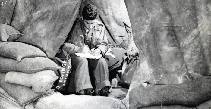 Private Writing Letter 1944 (1)