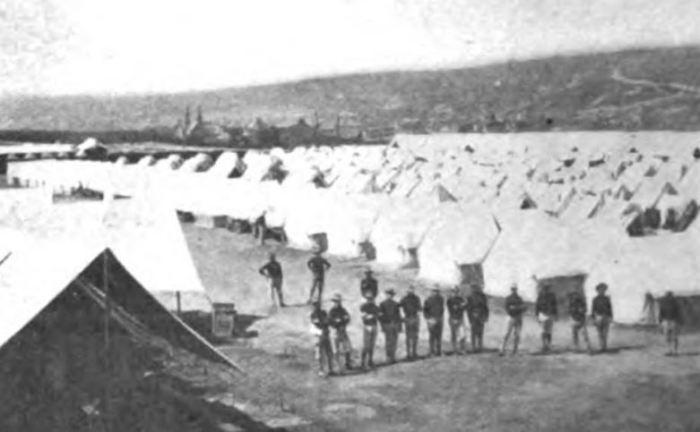 State troops at Shenandoah 1902