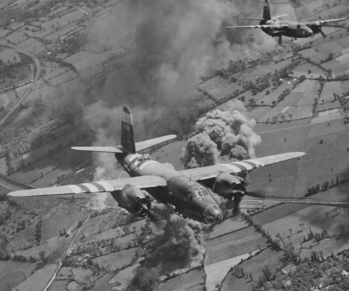 B-26 Bomb Run