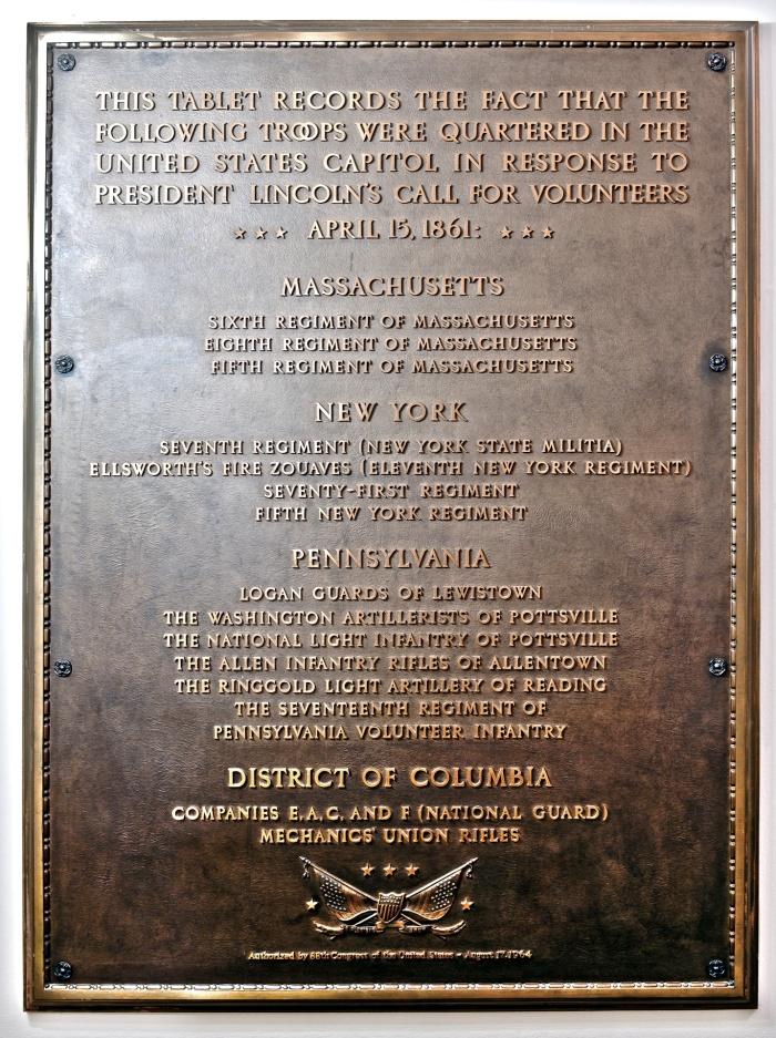 Capitol Plaque