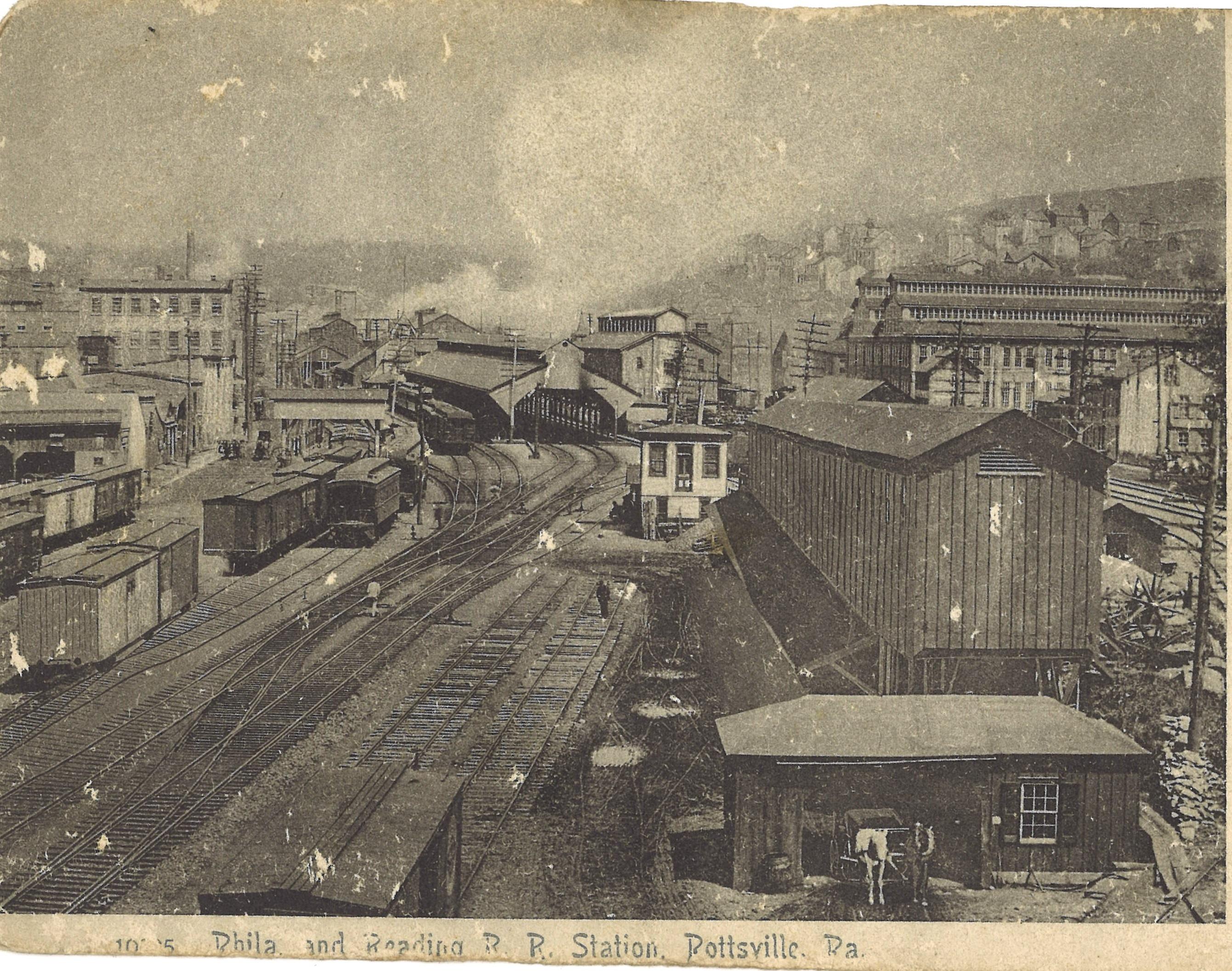 Philadelphia and Reading Depot in Pottsville