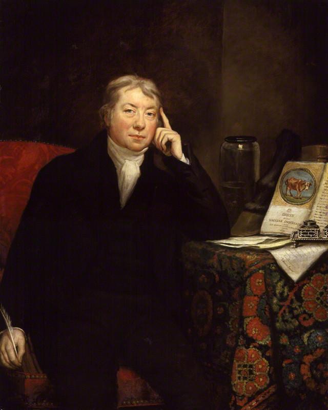NPG 62; Edward Jenner by James Northcote