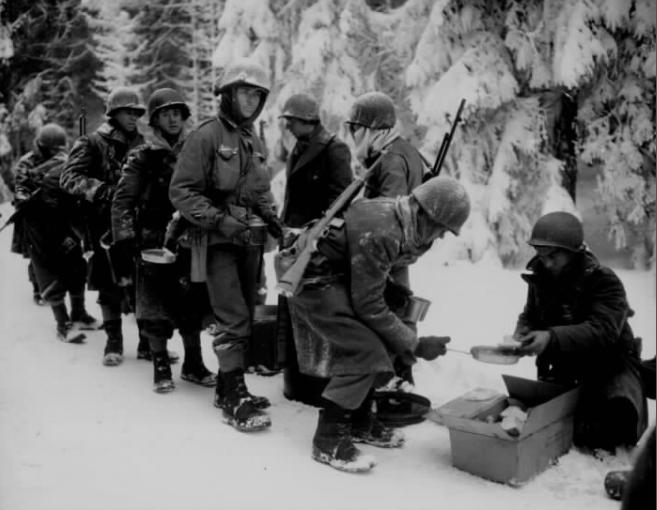 Soldiers Christmas 1944 NARA