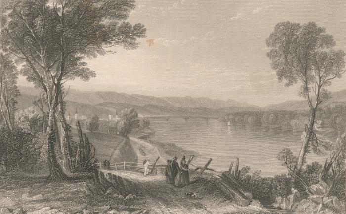 Wilkesbarre Early Illustration