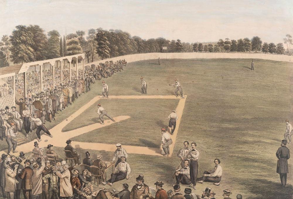 1866 - Baseball Full