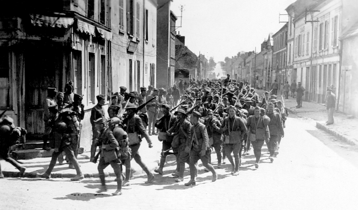 3rd Division in France WWI