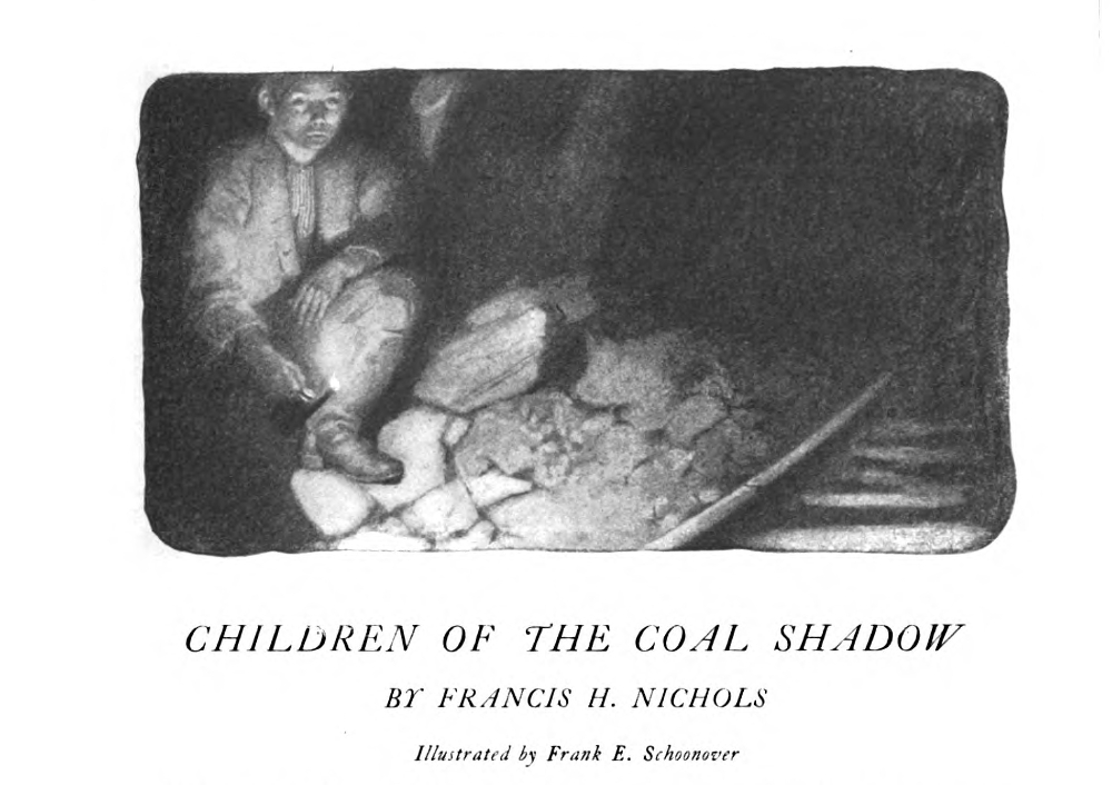 Children of the Coal Shadow First Page