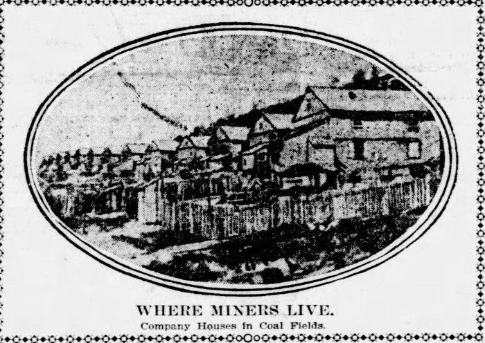 Company Houses Coal Region