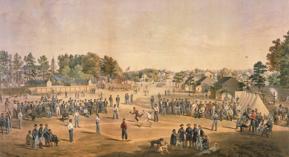 Salisbury NC Baseball 1865