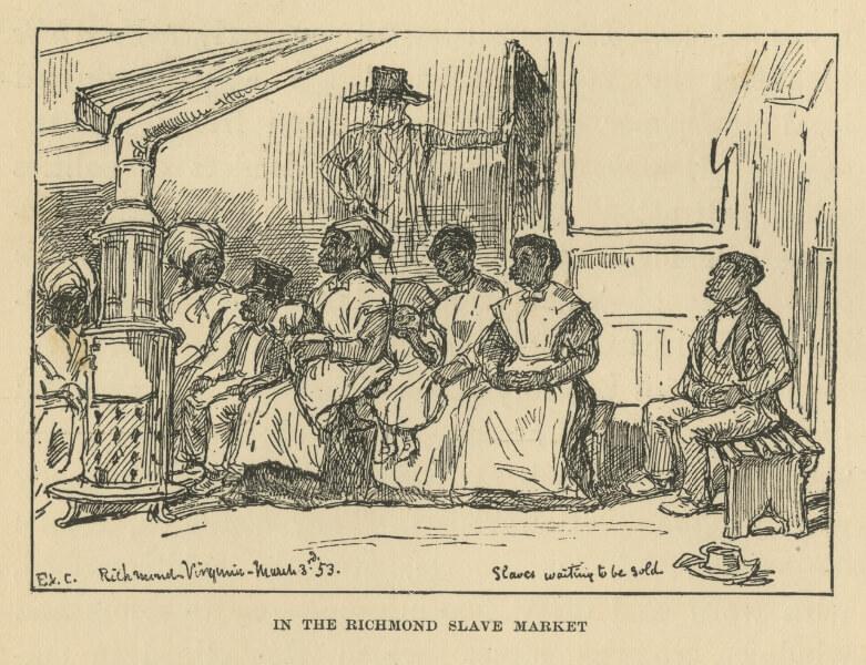 Virginia Slave Market